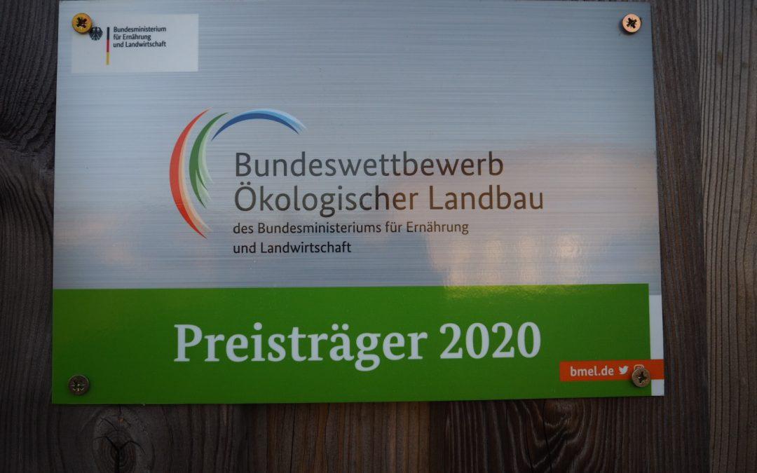 Der Hof Luna siegt beim Bundeswettbewerb Ökologischer Landbau 2020!